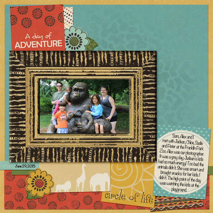 Scrapbooking Ideas for Using Project Life and Pocket Cards on Traditional Layouts | Jennifer Kellogg | Get It Scrapped