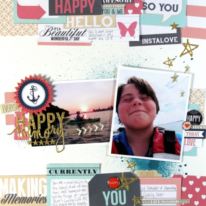 Scrapbooking Ideas for Using Project Life and Pocket Cards on Traditional Layouts | Katie Scott | Get It Scrapped