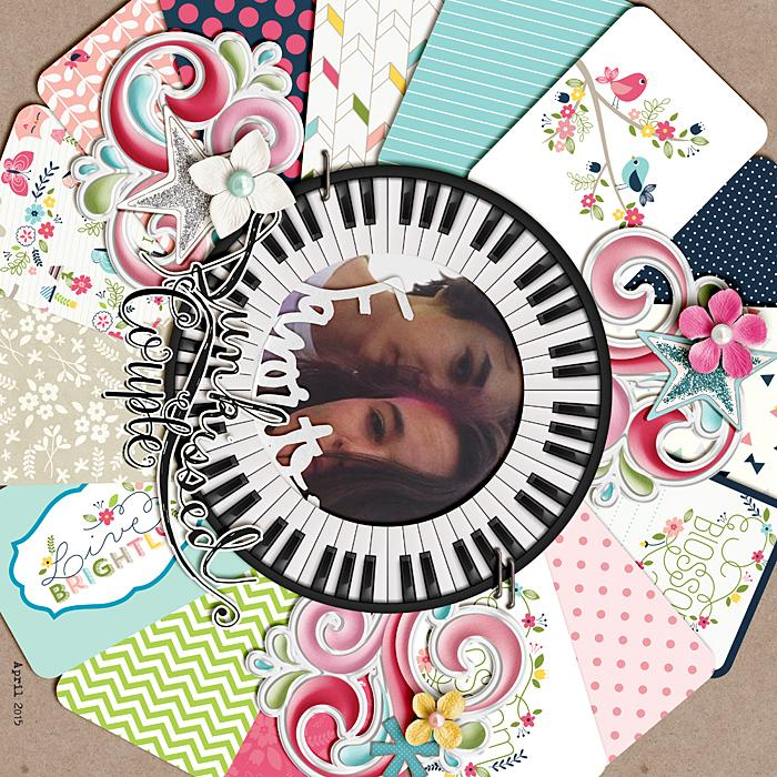 Scrapbooking Ideas for Using Project Life and Pocket Cards on Traditional Layouts | Ronnie Crowley | Get It Scrapped