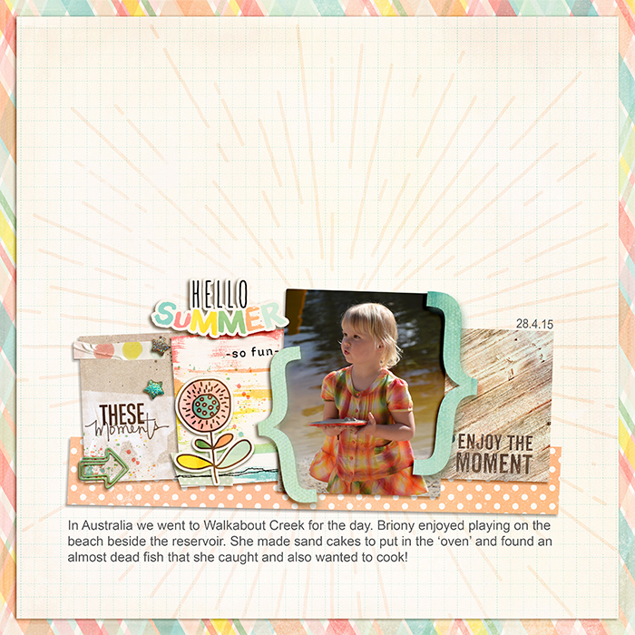 Scrapbooking Ideas for Using Project Life and Pocket Cards on Traditional Layouts | Vicki Hibbins | Get It Scrapped