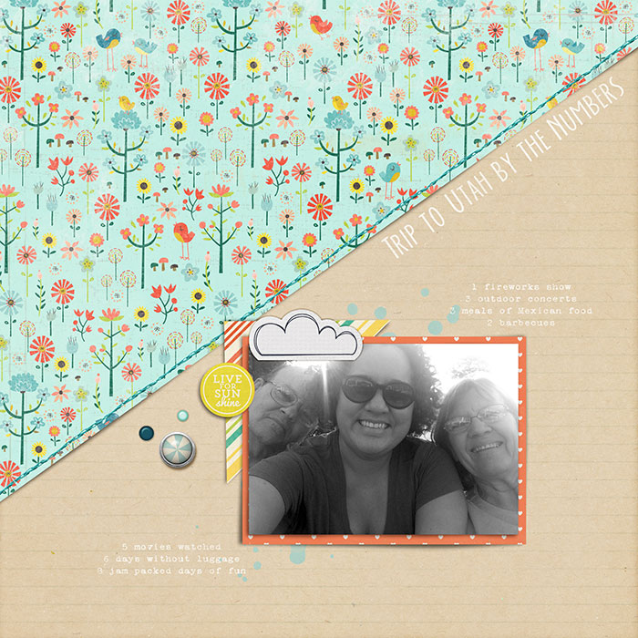 Speed up your Scrapbooking With Titlework and Embellishing Shortcuts | Heather Awsumb | Get It Scrapped