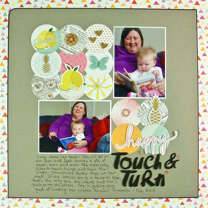 Speed up your Scrapbooking With Titlework and Embellishing Shortcuts | Sue Althouse | Get It Scrapped