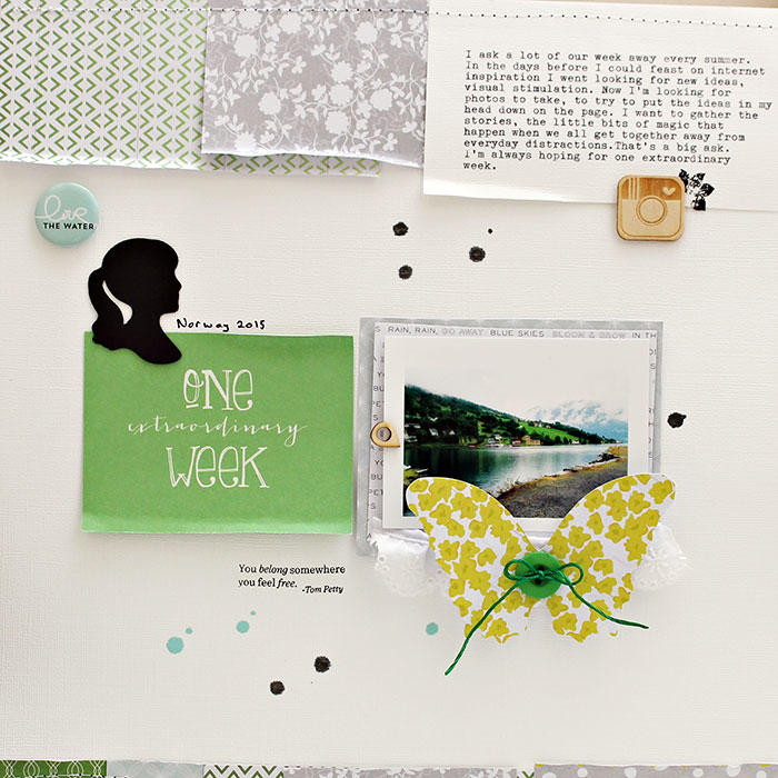 Speed up your Scrapbooking With Titlework and Embellishing Shortcuts | Sian Fair | Get It Scrapped