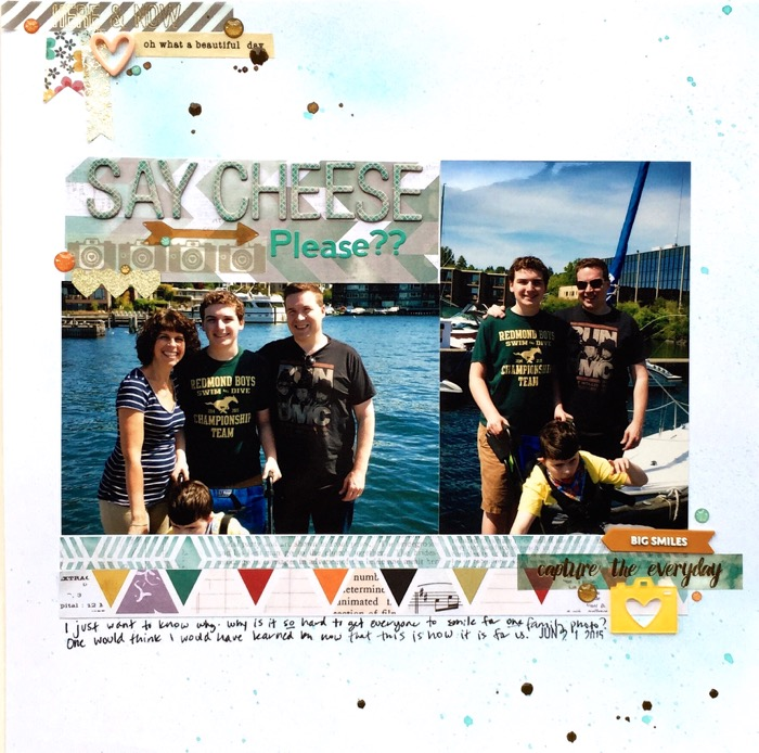 "Scrapbooking Ideas for Making Pages with 4""x6"" Photos 