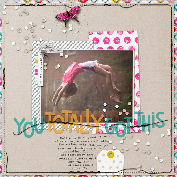 6 Scrapbookers Share Their Go-To Designs for Speeding Up Their Process | Kelly Prang | Get It Scrapped