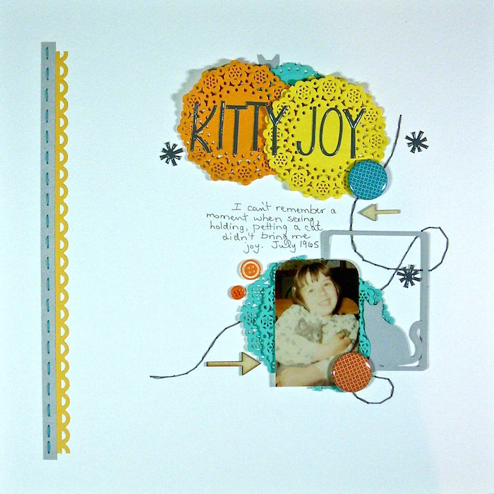 Scrapbook Page Sketch and Layered Template #105 | Sue Althouse |Get It Scrapped
