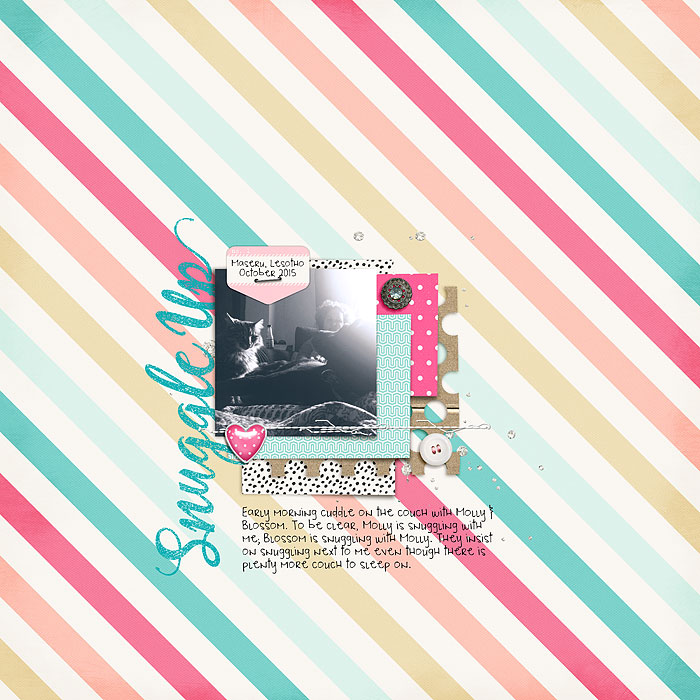 Scrapbooking Ideas for Patterned Paper Backgrounds   Heather Awsumb   Get It Scrapped