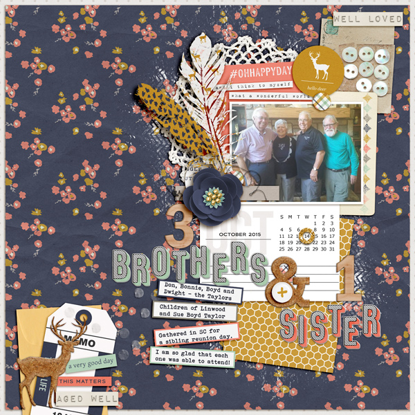 Scrapbooking Ideas for Patterned Paper Backgrounds   Kelly Prang   Get It Scrapped