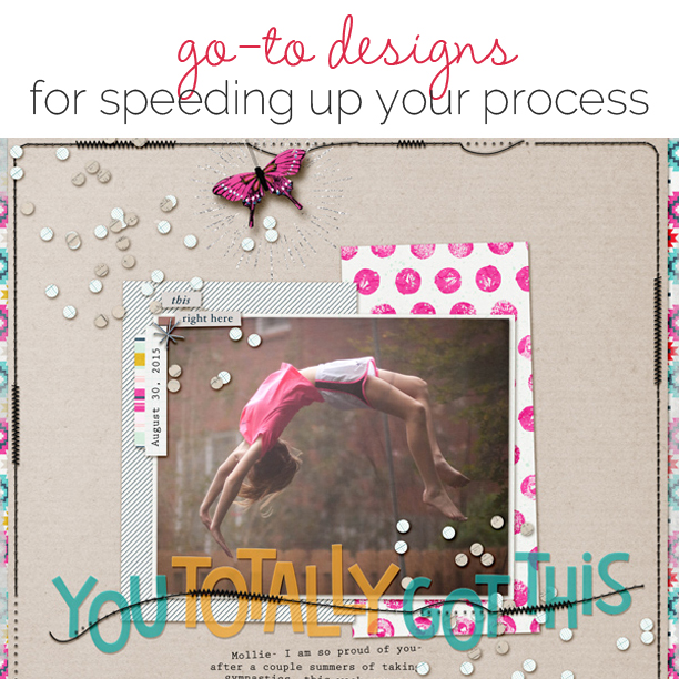 6 Scrapbookers Share Their Go-To Designs for Speeding Up Their Process | Get It Scrapped
