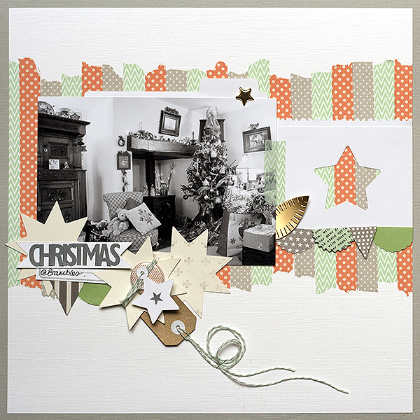 5 Liftable Scrapbook Page Ideas from a Layout by Amanda Robinson | Get It Scrapped