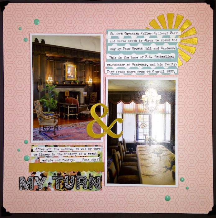 How Solid Design Skills Make Scrapbooking Easier: Alignment | Sue Althouse | Get It Scrapped