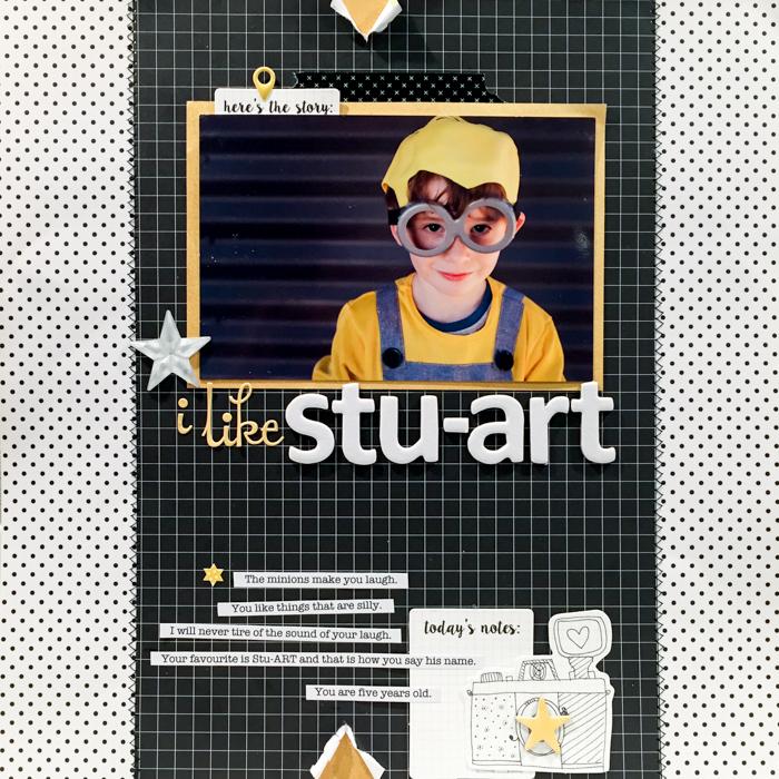 How Solid Design Skills Make Scrapbooking Easier: Contrast | Kristy T | Get It Scrapped