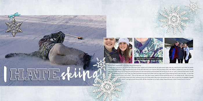 How Solid Design Skills Make Scrapbooking Easier: Contrast | Ronnie Crowley | Get It Scrapped