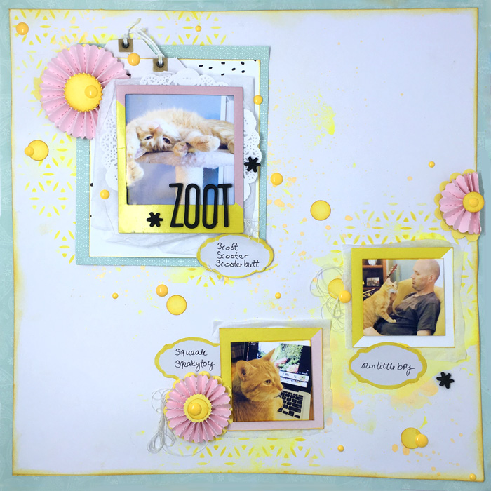 Scrapbook Page Focal Point Formula: Combine Title, Photo & Embellishment | Gretchen Henninger| Get It Scrapped
