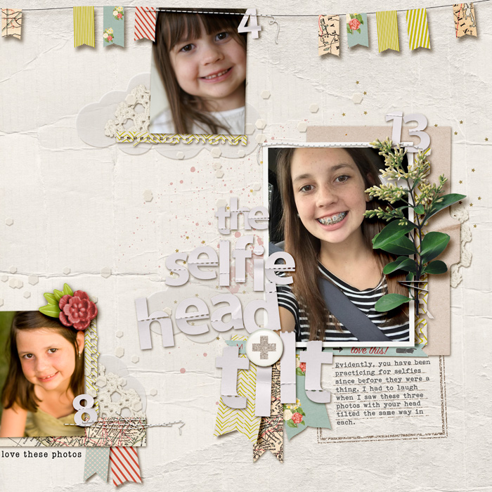 Scrapbook Page Focal Point Formula: Combine Title, Photo & Embellishment | Kelly Prang| Get It Scrapped