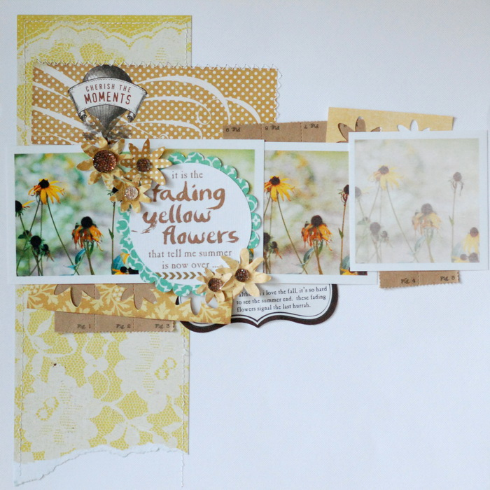 Scrapbook Page Sketch and Layered Template #108 | Betsy Sammarco| Get It Scrapped