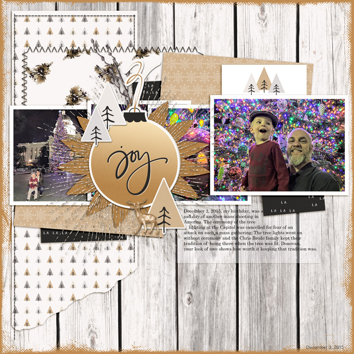 Scrapbook Page Sketch and Layered Template #108 | Karen Poirier-Brode| Get It Scrapped