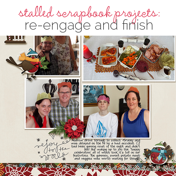 How to Re-Engage With and Finish A Stalled Scrapbooking Project   Get It Scrapped