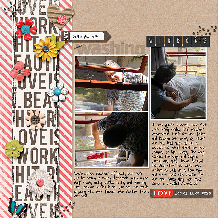 Scrapbook Page Sketch and Layered Template #110 | Stefanie Semple| Get It Scrapped