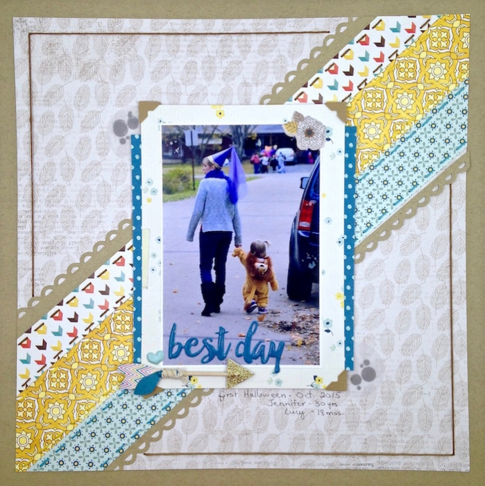 Scrapbook Page Storytelling: Start a Ticking Clock | Sue Althouse | Get It Scrapped