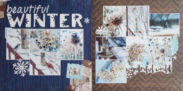 Scrapbook Page Ideas Inspired by Trendy Logo Designs |Marcia Fortunato| Get It Scrapped
