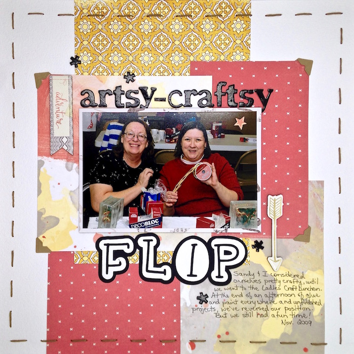 Scrapbook Page Ideas Inspired by Trendy Logo Designs |Sue Althouse| Get It Scrapped