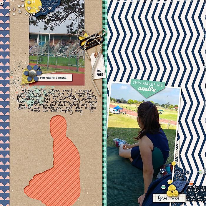 Scrapbook Page Ideas Inspired by Trendy Logo Designs |Stefanie Semple| Get It Scrapped