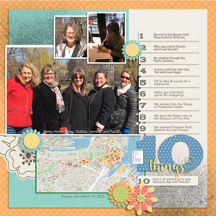 Ideas for Scrapbook Page Storytelling with Maps | Jennifer Kellogg | Get It Scrapped