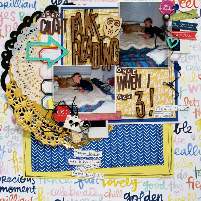 Mix Textures on Your Scrapbook Page Using Inspiration from Home Interiors | Christy Strickler | Get It Scrapped