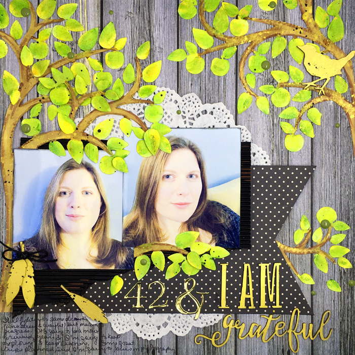 Mix Textures on Your Scrapbook Page Using Inspiration from Home Interiors | Gretchen Henninger | Get It Scrapped