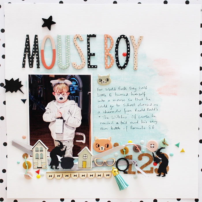 Mix Textures on Your Scrapbook Page Using Inspiration from Home Interiors | Sian Fair | Get It Scrapped