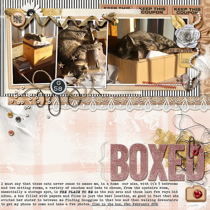 Mix Textures on Your Scrapbook Page Using Inspiration from Home Interiors | Stefanie Semple | Get It Scrapped