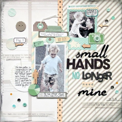 Scrapbook Page Sketch and Layered Template #111 | Kim Watson |Get It Scrapped