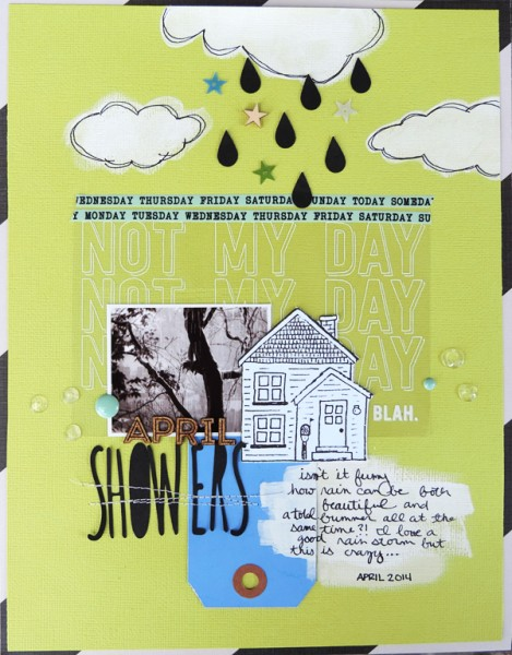 April Showers by Amy Kingsford