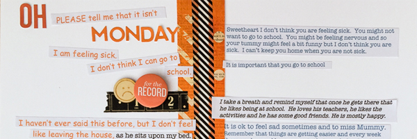 Scrapbook Ideas for Bringing Conversations to the Page