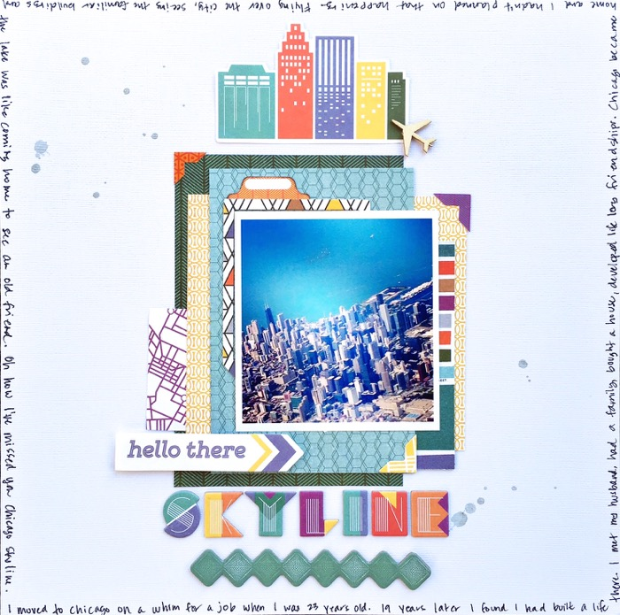 Scrapbook Ideas for Using Geometric Fonts in Your Titles | Devra Hunt| Get It Scrapped