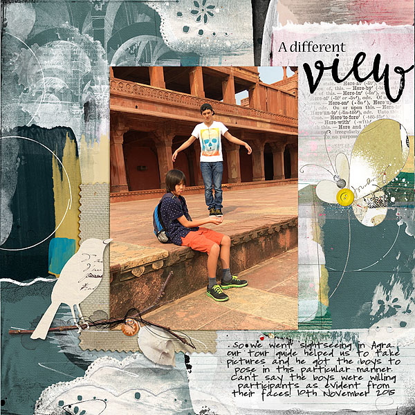 Ideas for Playing with Human Scale on Your Scrapbook Pages | Audrey Tan | Get It Scrapped