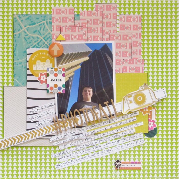 Ideas for Playing with Human Scale on Your Scrapbook Pages | Christy Strickler | Get It Scrapped