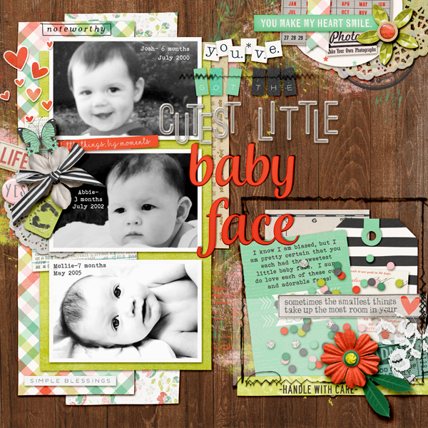 More Room for Journaling on Your Scrapbook Pages | Kelly Prang | Get It Scrapped