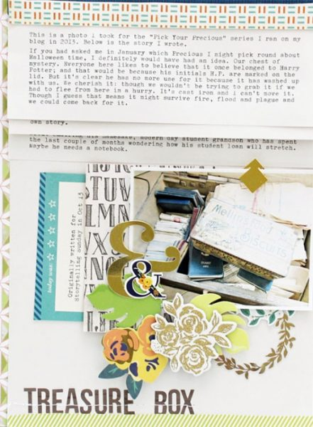 More Room for Journaling on Your Scrapbook Pages | Sian Fair | Get It Scrapped