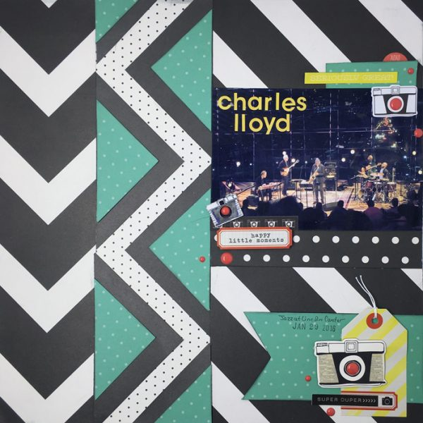 Scrapbook Ideas for Making Your Own Geometric Mashup Patterns | Gretchen Henninger | Get It Scrapped