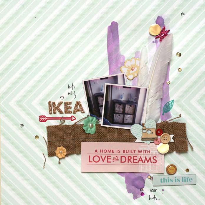 Unexpected Scrapbook Page Choices That Charm and Delight   Leah Farquharson   Get It Scrapped