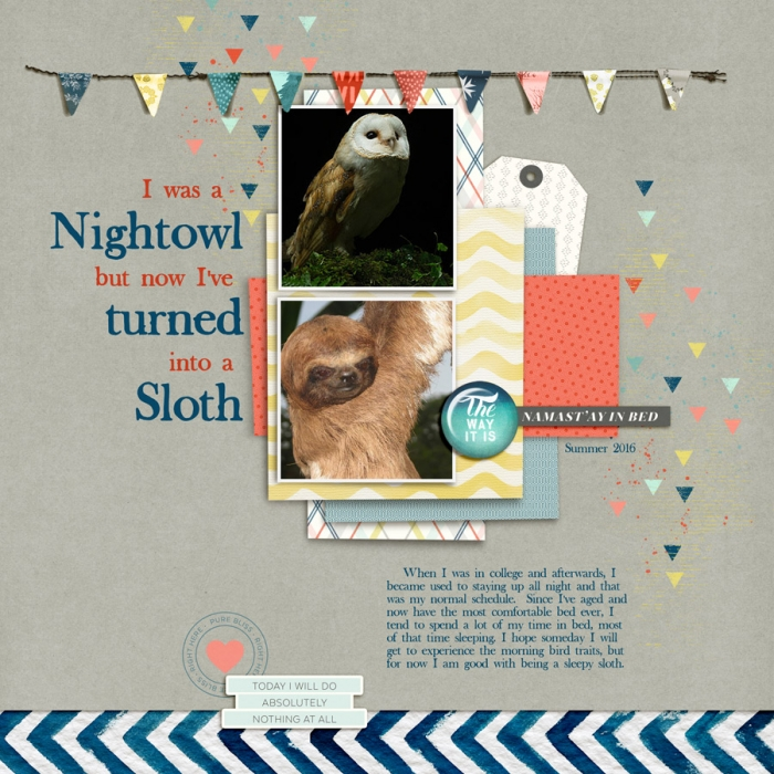 Start Your Scrapbook Page with a Metaphor | Kelly Prang | Get It Scrapped
