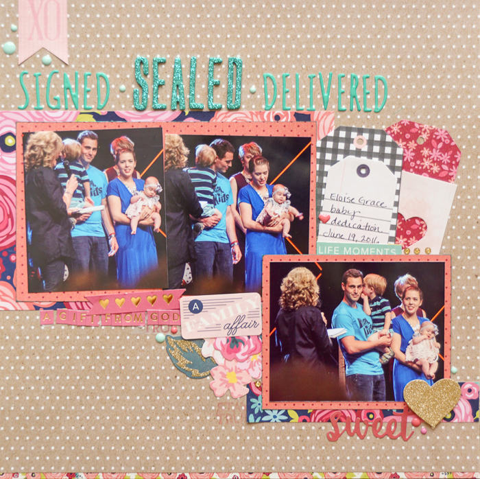 Start Your Scrapbook Page with a Metaphor | Marcia Fortunato | Get It Scrapped