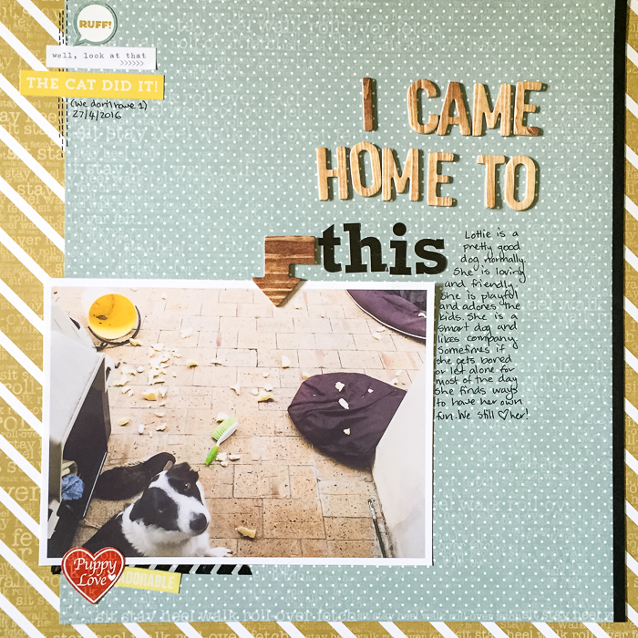 Scrapbooking Photos Whose Story is In The Details | Kristy T | Get It Scrapped