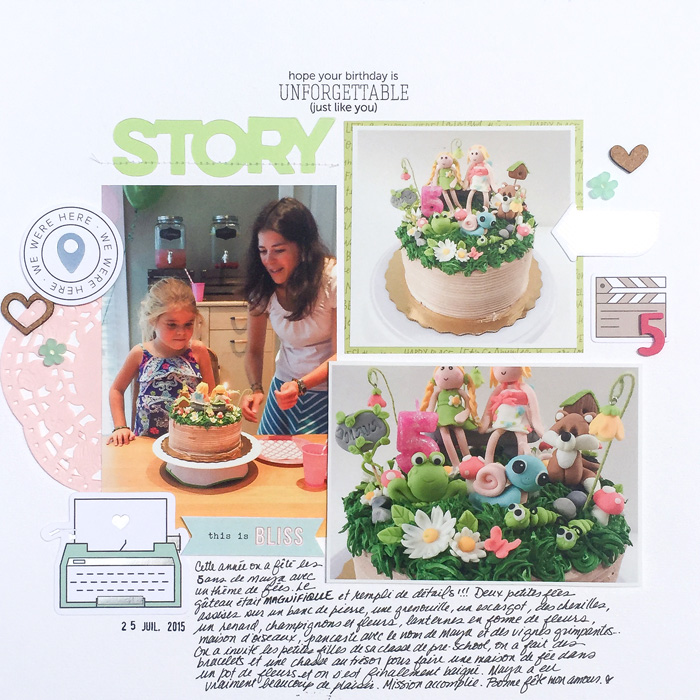 Scrapbooking Photos Whose Story is In The Details | Marie-Pierre Capistran | Get It Scrapped