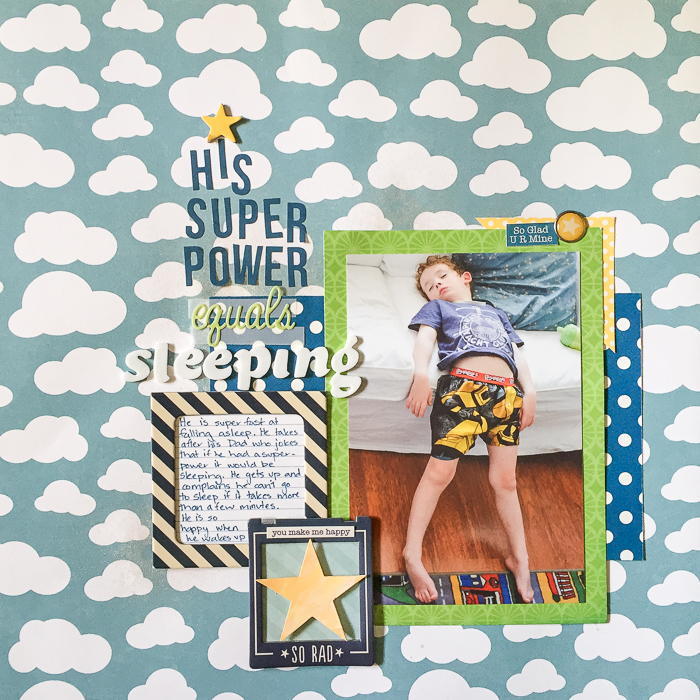 Unexpected Scrapbook Page Choices That Charm and Delight | Kristy T | Get It Scrapped