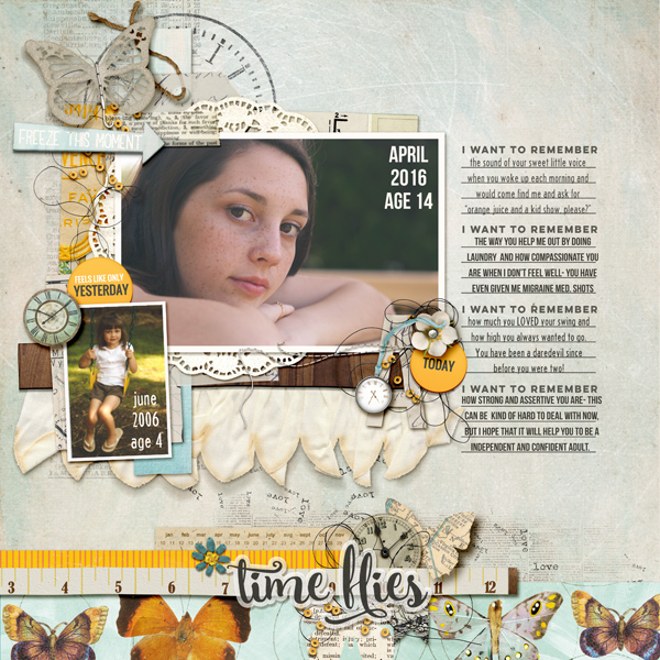 Unexpected Scrapbook Page Choices That Charm and Delight   Kelly Prang   Get It Scrapped