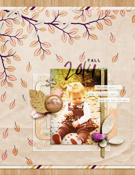 Unexpected Scrapbook Page Choices That Charm and Delight | Amy Kingsford | Get It Scrapped
