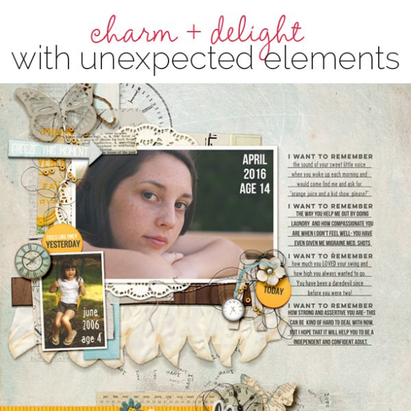 Unexpected Scrapbook Page Choices That Charm and Delight   Get It Scrapped